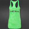 Green Swagger Gunslinger Burnout Top