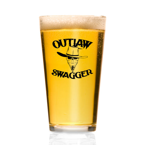 Outlaw Swagger Pint Glasses