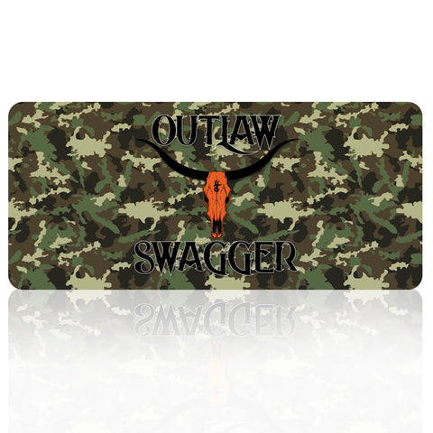 Outlaw Swagger License Plates