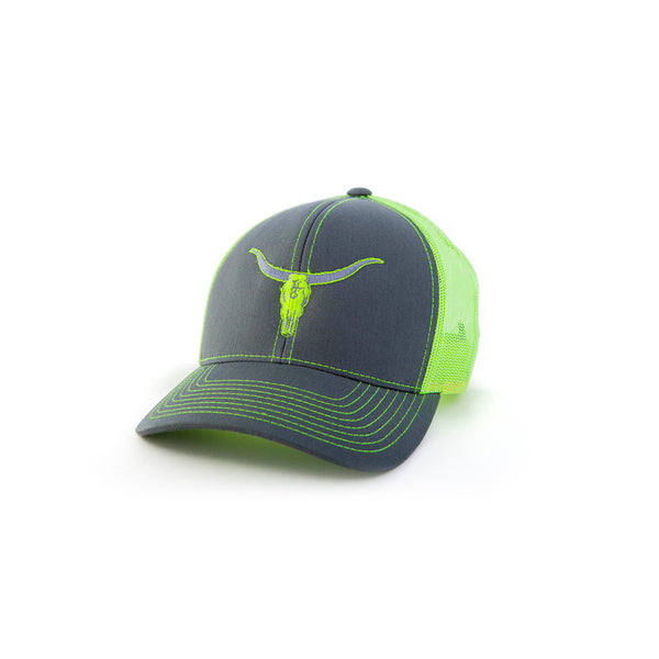 Neon Yellow Deadwood Hat
