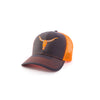 Orange & Charcoal Deadwood Hat