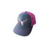Charcoal & Pink Deadwood Hat