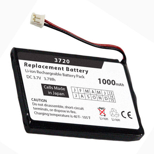 BATTERY 30720: Avaya 3720 Replacement Battery, 1000 mAH