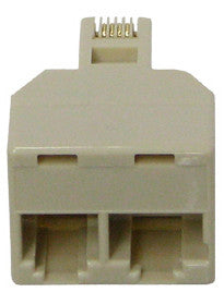 Two Plug adapter Avaya 400B 104152558 Compatible