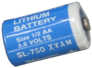 Replacement battery Inter-Tel  Axxess Axxent CPU 1/2 AA