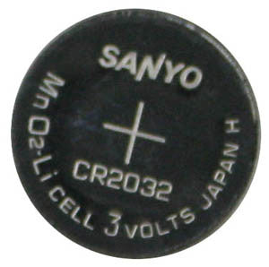 BATTERY 46000: Mitel, SX-50, CR2032, Button Cell, 3 Volts, 220mAh, Lithium