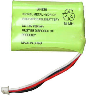BATTERY 49070: Toshiba, DKT 2304, 3.6V, 700mAh