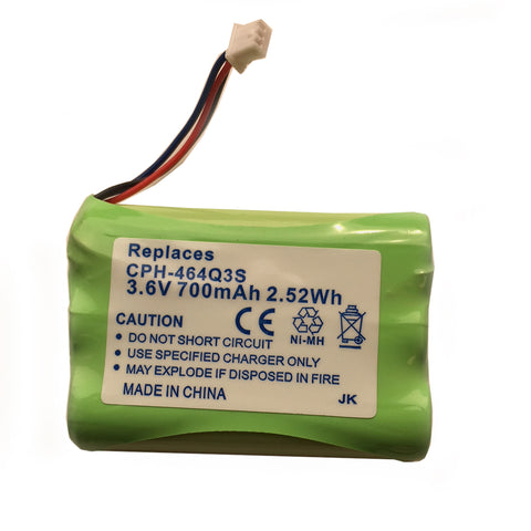 BATTERY 81020-KI: Kirk, 2010, 3020, 3040, 4020, 4040, 3.6 Volts DC, 700mAh, NiMH