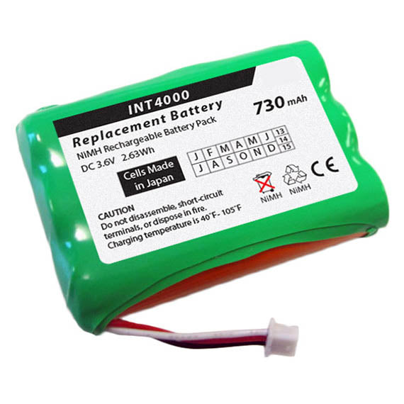 replacement battery INT 4000, Inter-Tel 9000369, 9000400, 9000367