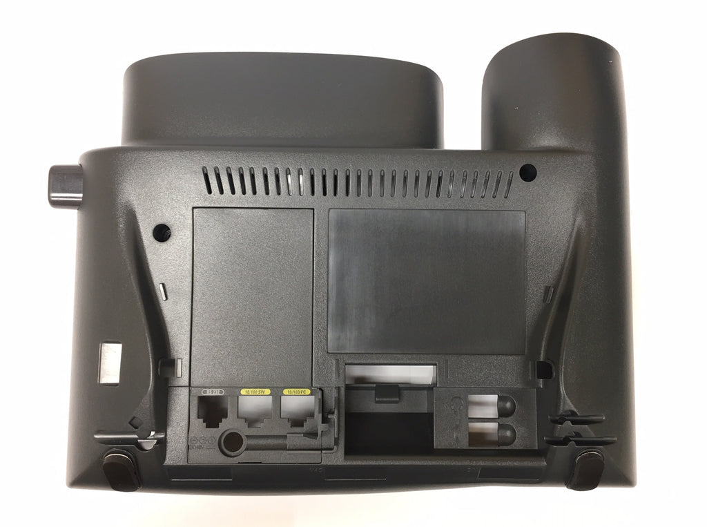 BOTTOM HOUSING 16000: Cisco, 7940, 7960, Without Stand or Lock, Charcoal