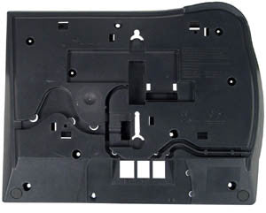 BOTTOM HOUSING 37700: Nortel, T7316, T7316E, Charcoal