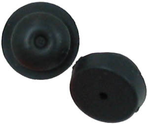 Replacement push-in rubber feet for Lucent Avaya MLX MLS 84XX series and Spirit phones