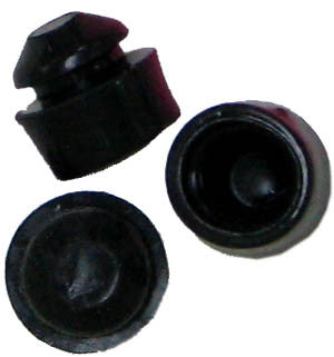 Replacement rubber push-in feet for Nortel Meridian and Norstar phones