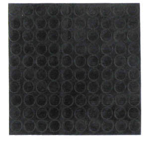 BUMPER 36010: Nortel, T-Series Black (100 per sheet)