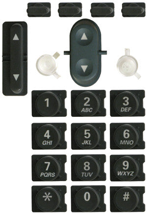 Replacement dial pad buttons set for Cisco 7905, 7906, 7911, 7912