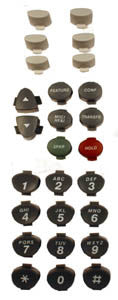 BUTTONSET 30925: Avaya, Euro Series 2,6D, (26 piece set)