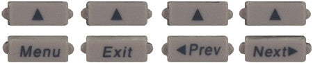 BUTTONSET 31060: Avaya, 8410D, 8 Display Keys, New Style