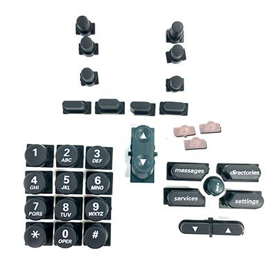 Replacement button set for Cisco 79XX series English