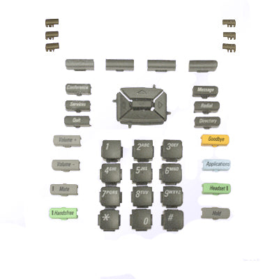 39 piece replacement button set for Nortel Avaya 1220