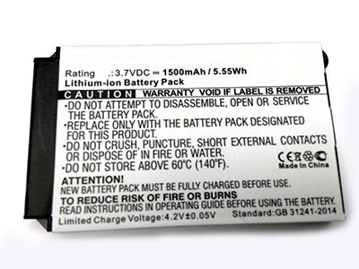 Replacement Battery for Cisco 7925G 7926G 3.7 Volt Extended Capacity 1500 mAh