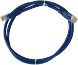 CABLE 99035: Cat5e, Non Booted, RJ45, 10 ft, Blue, Bagged