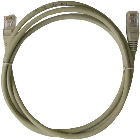 CABLE 99047: Cat5e, Non Booted, RJ45, 25 ft, Gray, Bagged