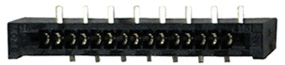 CONNECTOR 30160: Avaya, Euro 18D, 15pin, 1.25mm, Surface Mount