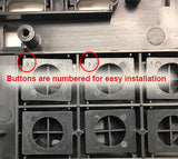 Cisco replacement buttonset numbered for easy installation
