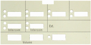 replacement name button label for Lucent Avaya MLX  6