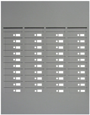 DESI PAPER 49000: Toshiba, 6510, 4 Strips to a sheet