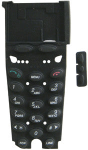 DIALPAD 26064: Inter-Tel, 8664, with Volume buttons, Black