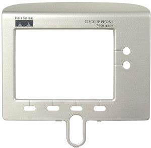 Replacement silver face plate bezel for Cisco 7940, 7940G