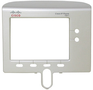 FACEPLATE 16020: Cisco, IP Phone, 7941, 7941G, Bezel, Silver