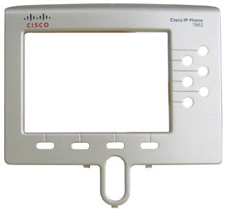 FACEPLATE 16040: Cisco, IP Phone, 7962, 7962G, Bezel, Silver