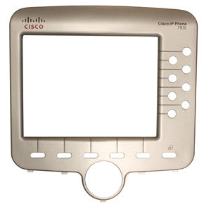 FACEPLATE 16070: Cisco, IP Phone, 7970, Bezel, Silver