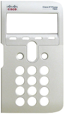 Replacement silver face plate bezel for Cisco 7905
