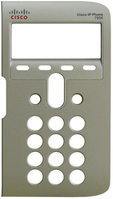 Replacement silver face plate bezel for Cisco 7906