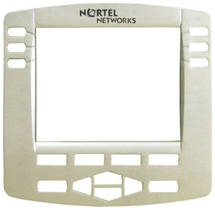 FACEPLATE 37860: Nortel, i2004, Silver