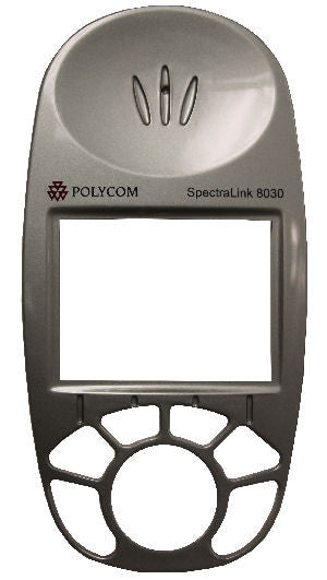 FACEPLATE 54030: Spectralink, 8030, with Logo, Silver