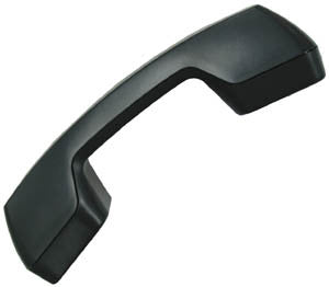 Replacement handset for  ESI, Digital or Analog, Old Style, Charcoal