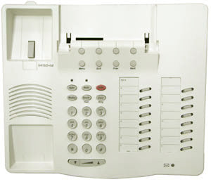 HOUSING 30075: Avaya, 6416D+M, White,Top,Bottom Stand, Btns,Desi