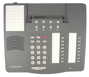 HOUSING 30168: Avaya, CallMaster V, Gray, With Buttons & Stand