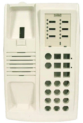 HOUSING 30500: Avaya, Euro 6 Btn,White, Top & Bottom
