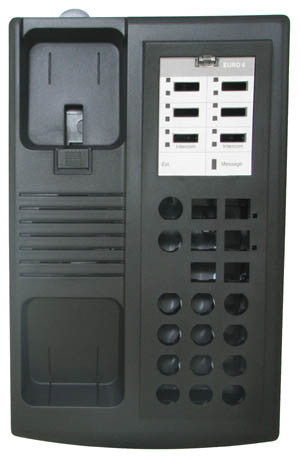 HOUSING 30513: Avaya, Euro 6, Old/New,Black, Top, Bottom, Stand