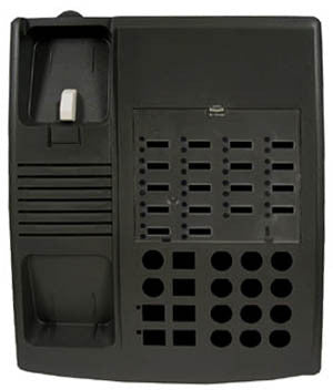 HOUSING 30518: Avaya, Euro 18, Black, Old, New Style, Tp/Bm/Std