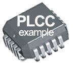 IC 33600: MC68HC705C9ACFN, 2.1MHZ,; 16K, OTP, 44pin PLCC
