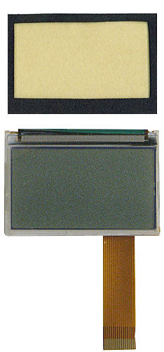 LCD MODULE 43120: Siemens, W1, PTX150, Gasket Included