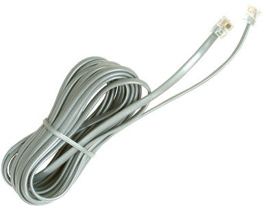 LINE CORD 11000: 14' 6 Conductor, Silver Satin, Bagged