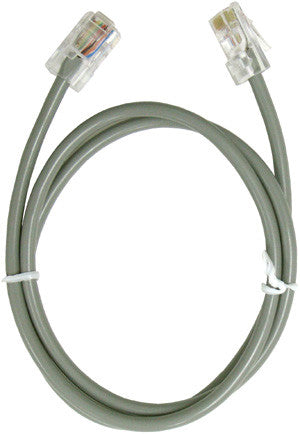 Line Cord 11400: 2.5' 8 Conductor, Silver;Satin, Bagged