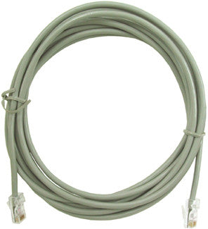 LINE CORD 11600: 14' 8 Conductor, Silver Satin, Bagged